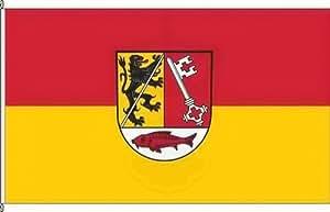 Anwesenheitsbanner Landkreis Forchheim - 40 x 250cm - Flagge und Banner