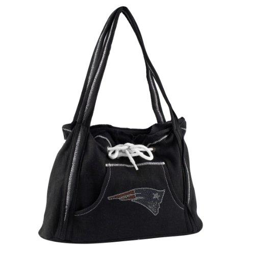 nfl-new-england-patriots-sport-noir-hoodie-purse-black