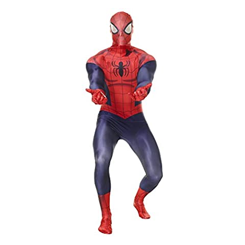Déguisement officiel Morpsuits spiderman - size XXLarge - 6'3
