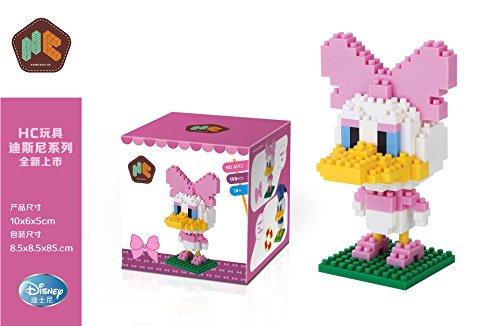 Disney Micky Maus & Freunde Baustein-Set ca.10cm Daisy Duck