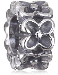 Pandora 79498 - Abalorio de mujer de plata de ley, 1 cm