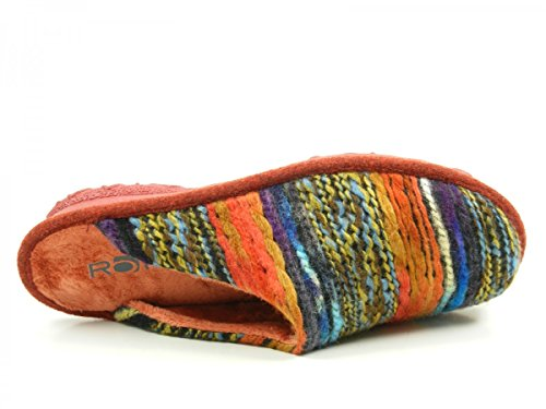 Rohde 2265, Pantofole Unisex – Adulto Marrone (Brown)