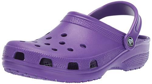 crocs Unisex/Erwachsene Classic Clogs, Violett (Neon Purple), 42/43 EU
