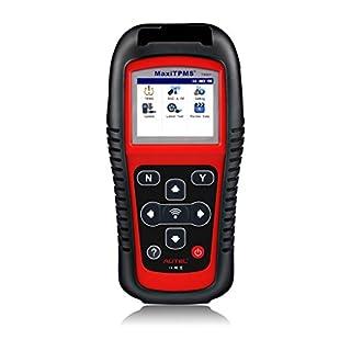Autel MaxiTPMS OBD2 TS501 Diagnosegerät, tpms Sensor Tool, Felercodeleser, Magnetische Reifendruckkontrolle System Diagnosewerkzeug für alle Fahrzeuge