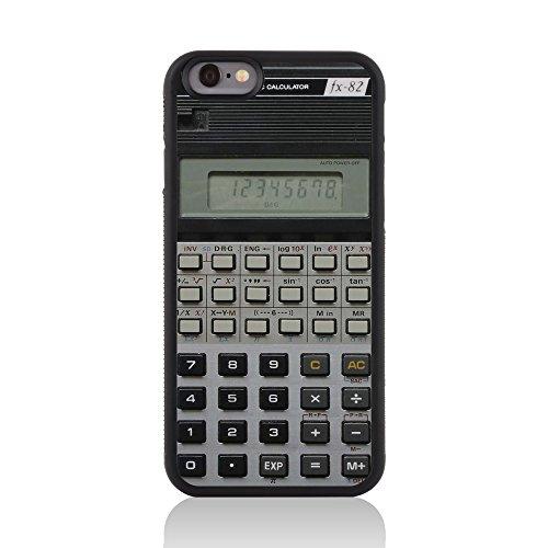Call Candy 122-113-119 Printed Retro Old Skool Drehen nach oben glänzendes Bild Festplatte zurück 2D Fall für Apple iPhone 6 Calculator