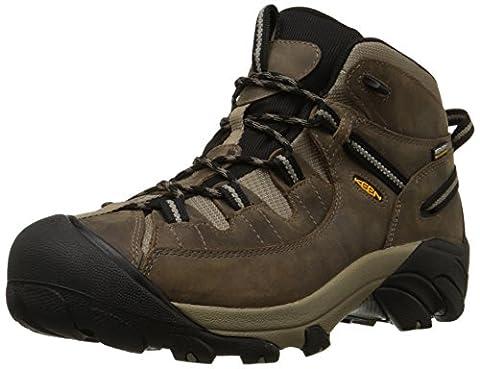 Keen Mens 1008418 Hiking Boot, Shitake/Brindle, 10 UK D(M)