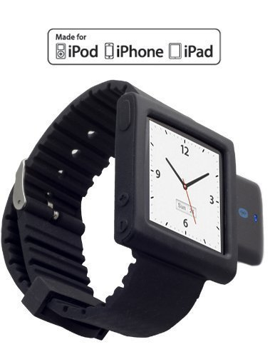 kokkia-i10swatch-the-ultimate-watch-i10s-lussuoso-nero-nero-iwatch-polso-ipod-nano-banda-6g-tiny-ipo