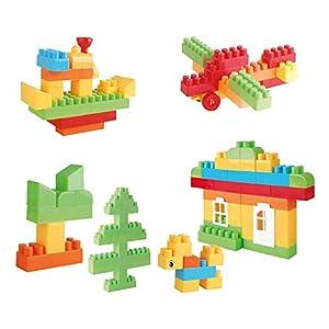 ColorBaby -  Bolsa Blocks 105 piezas CBtoys (44661)