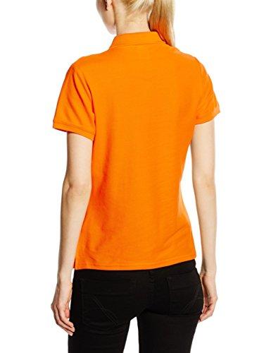 Fruit of the Loom Damen Poloshirt Orange