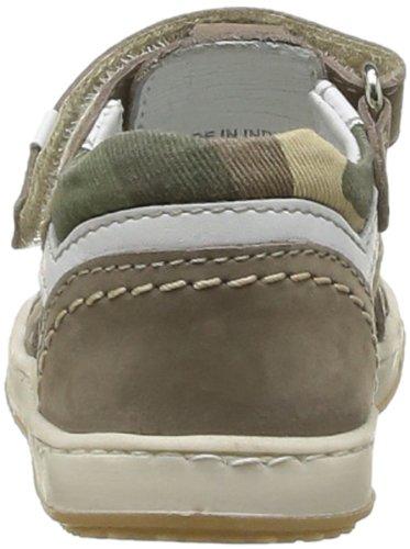 Chicco Gin, Chaussures basses à scratch bébé garçon Vert (670)
