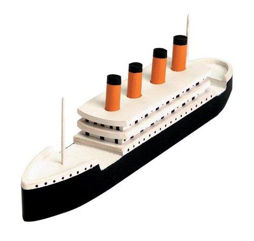 Darice 9178-91,Holz-Modell der Titanic, Kit (Titanic Holz Modell)