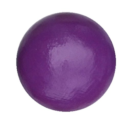 Preisvergleich Produktbild Kommodengriff Holz Möbelgriff violett uni Buche 1 Stück
