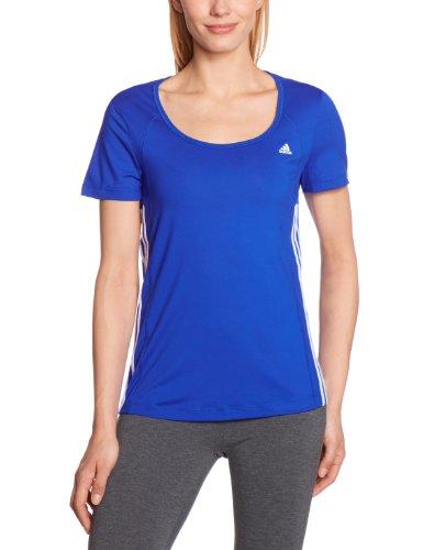 adidas - Camiseta de running para mujer, tamaño XS, color cobalt / bl