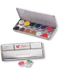 Palette maquillage professionnel à l' eau, Bodypainting