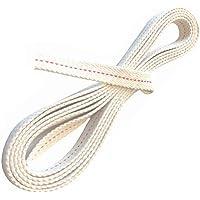 1 metro de mecha para farolillos Dietz a medida, 12,5 mm de ancho, para todos los modelos de 254 mm de alto, mecha de repuesto fabricada en Alemania