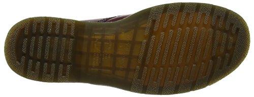 Dr. Martens 1490Z DMC SM-B 11857001, Bottes mixte adulte Rouge (Rouge cerise)