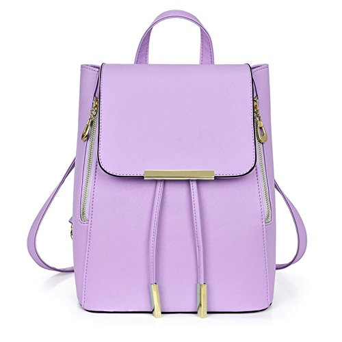 AIZHE - Borsa a Zainetto Ragazza donna unisex adulti Purple