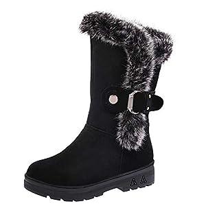 WWricotta Damen Winterschuhe Schneeschuhe Warme Schuhe Outdoor Freizeitschuhe...