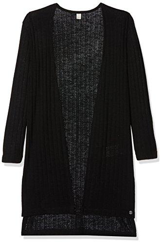 ESPRIT Mädchen Strickjacke RL1800512, Schwarz (Black 020), 164 (Herstellergröße: XS)