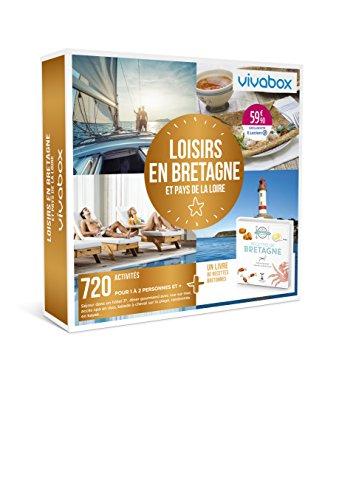 Vivabox - Coffret cadeau week-end - LOISIRS EN BRETAGNE ET PAYS DE LA LOIRE - 718...