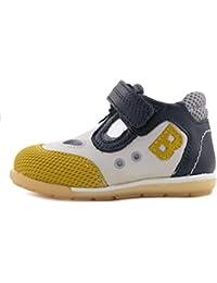 BALDUCCI Sandalo Primi Passi Velcro Due Occhi Bambino CITA60 Bianco 0afa463235b