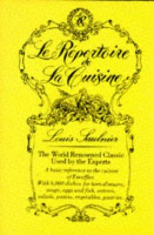 Le Repertoire de la Cuisine por L. Saulnier
