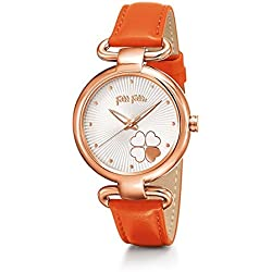 Uhr folli-follie wf15r029spw Frau Gurt Orange