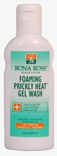 Rona Ross Foaming Prickly Heat Gel Wash by Cosmetia -