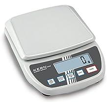 Balanza de laboratorio para principiantes con un gran plato de pesaje [Kern EMS 3000-