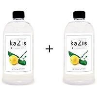Kazis Duft-Set Zitrone I Passend für Alle katalytischen Lampen I 2 x1 Liter I Nachfüll-Öl I 2 x 1000 ml I 2 x... preisvergleich bei billige-tabletten.eu