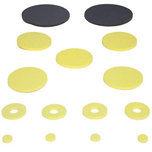 YATE Set Bogenschießen 15 x Zielpunkte Polimix (Ziel Block-bogenschießen)