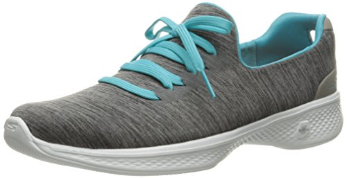 Skechers Women Go Walk 4-A.D.C Low-Top Sneakers, Grey (Gybl), 6 UK 39...