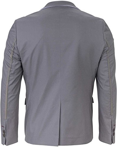 YAKE by S.O.H.O. NEW YORK Sakko Herren Slim Fit - Blazer Herren Sportlich Belfast Grau_008