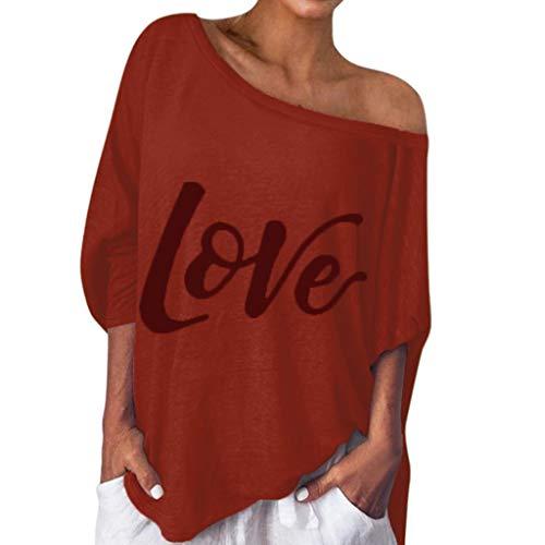 Auiyut Frauen Schulterfrei Pullover Langarmshirts Loose Sweatshirt Off Shoulder Casual Casual Lange Ärmel Bluse Tunika Tops Elegant T Shirt Tops -