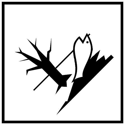 Gefahrzettel (Gefahrgutaufkleber) Für verschiedene Klassen Bild-Nr. 156 Größe: 10,0 x 10,0cm selbstklebende PVC-Folie