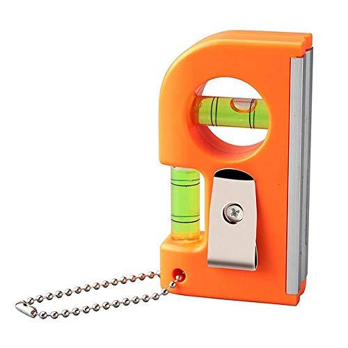 Wasserwaage Klein Mini Magnetisch Libelle Wohnwagen Aluminium Horizontalem Vertikalem Wasserwaage Pocket Pro Magnetic 85 x 45 x 20mm