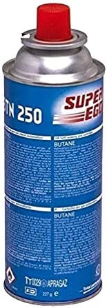 SUPER EGO SEH003800 - Cartucho de gas para camping 250