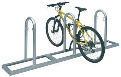 Preisvergleich Produktbild WSM Fahrradständer (Anlehnparker) TRACK 35 (5 Bügel / 10 Stellplätze)
