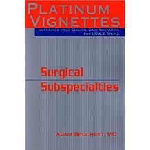 Surgical Subspecialties