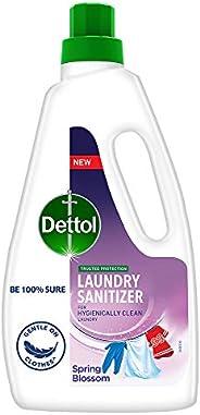 Dettol After Detergent Wash LiquidLaundrySanitizer, Spring Blossom - 960ml