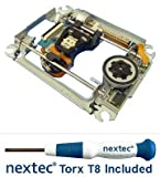 Neu - Sony PS3 Laser + Rahmen (KES-460A/ KES-460AAA/ KEM-460A/ KEM-460AAA) + Nextec® Torx T8 Security Schraubendreher