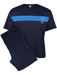 Adamo XXL Pijama corto y cómodo azul oscuro