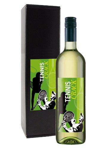 Wein-Geschenk-Tennis-Crack