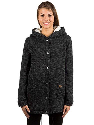 Roxy Into The Storm - Veste en jersey à capuche pour Femme ERJFT03611 Charcoal Heather