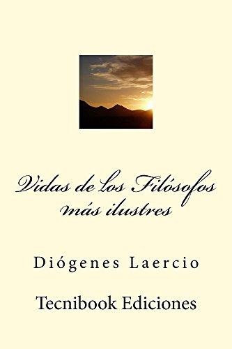 Vidas de los Filósofos más ilustres por Diógenes Laercio