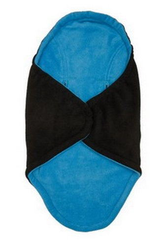 Babyzubehör HLUSIN 1011201011 Kuschel Cooc 5-Punkt-System, Länge circa 86 cm,Breite circa 45 bzw.92 cm, schwarz/türkis
