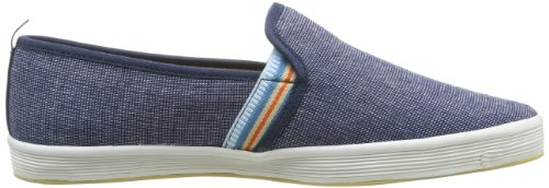 Base London Fry 2, Baskets mode homme Bleu (405 Textile Navy)