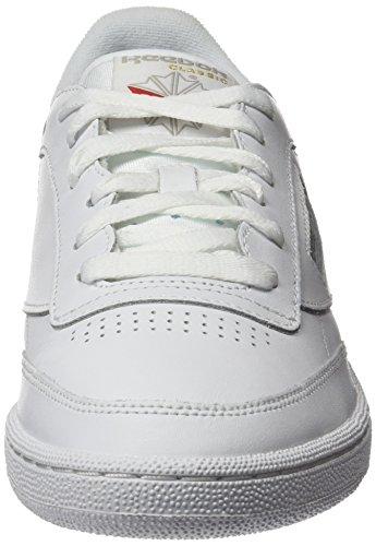 white Reebok Blanc Chaussures C85 Gymnastique Club De Homme CZgq0x8Zw 03dc7cabb1da