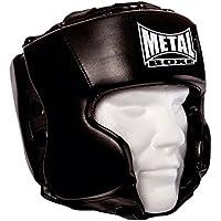 Metal Boxe mb117Casco Unisex, Negro