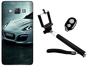APE Back Cover and Selfie Stick for Samsung Galaxy Ace Next G313